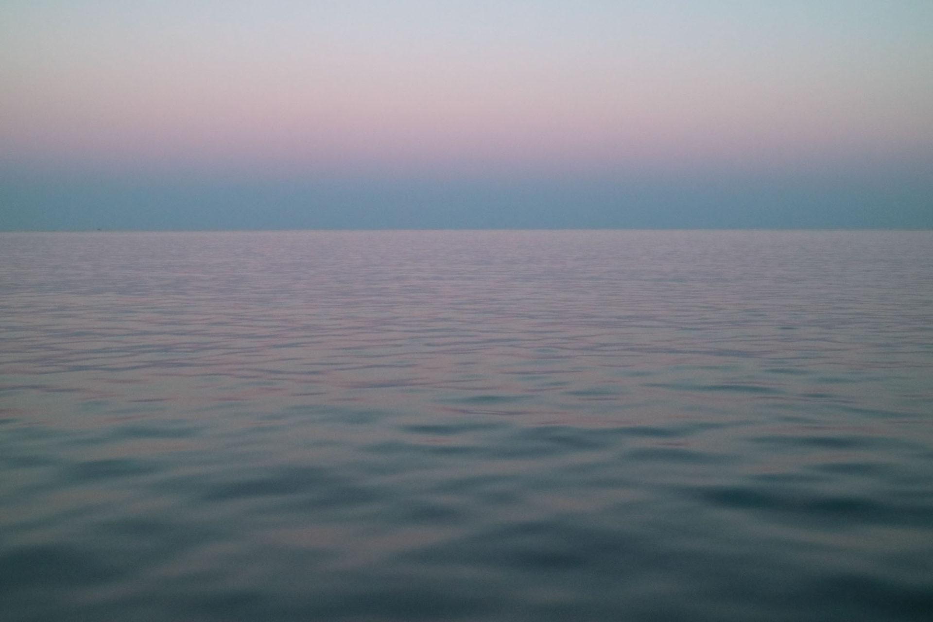 Fotografin - Daniela Hürlimann - Pastelltöne Meer Horizont